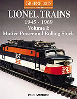 Books That Are Train Identification Guides For Post-war Era Lionel Trains 1945 - 1969