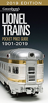 Greenberg's Pocket Price Guides Lionel 2015