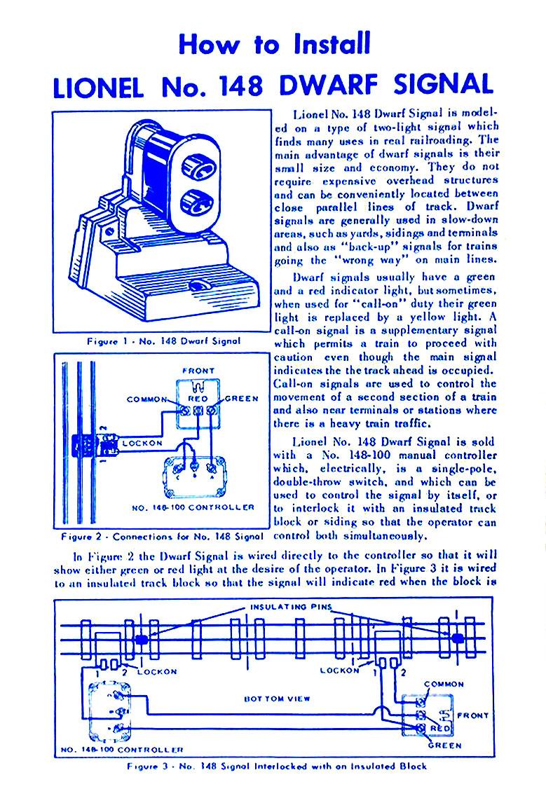 Lionel Trains 148 Dwarf Signal Accessory