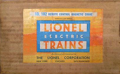 acc182_ident_box lionel trains 182 magnetic crane accessory Lionel 165 Crane Motor Wiring at bayanpartner.co
