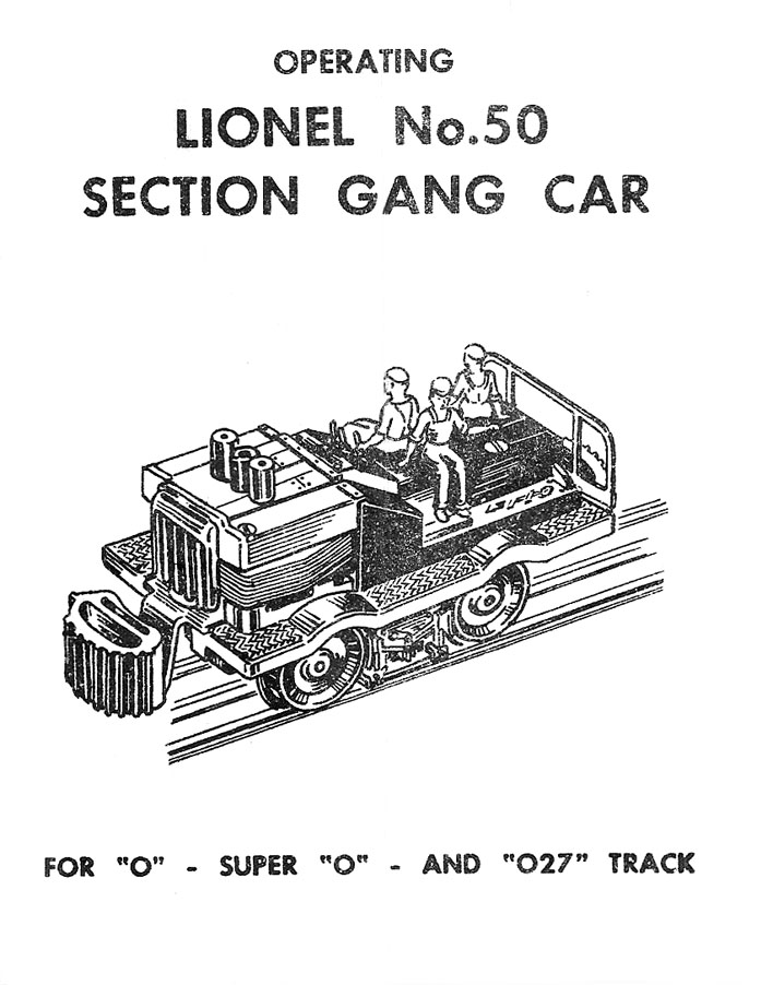 lionel trains 50 gang car rh tandem associates com