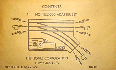 LIONEL TRAINS 1122 O27 GAUGE SWITCH